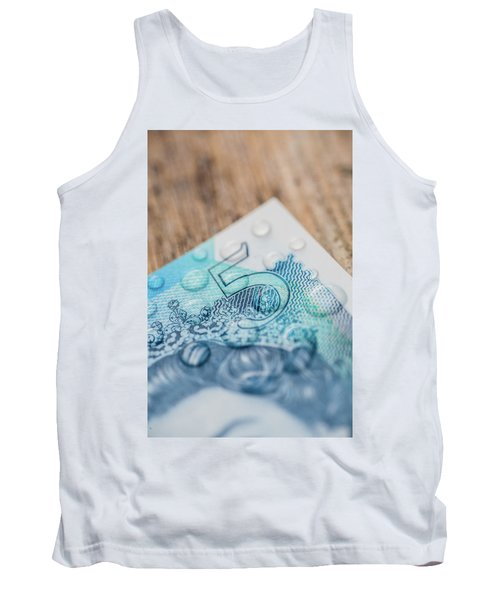 New Uk Five Pound Note Tank Top