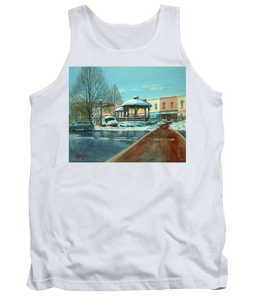 Triangle Park In Winter Tank Top