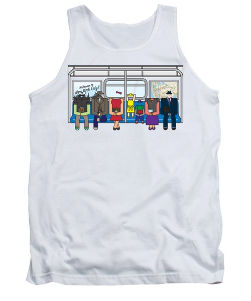 Subway Series Tank Top