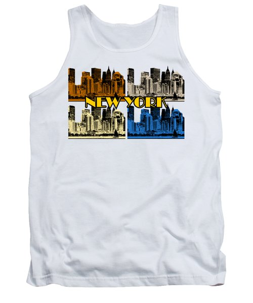 New York 4 Color Tank Top