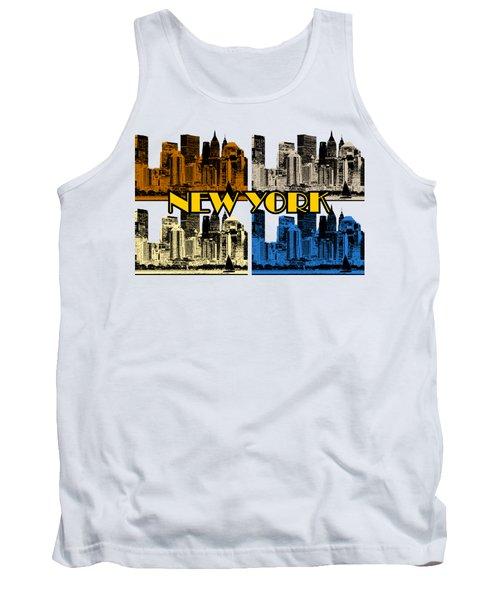 New York 4 Color Tank Top