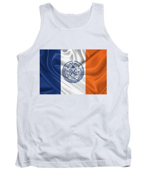 New York City - Nyc Flag Tank Top