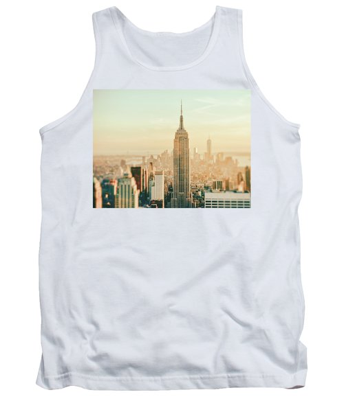 New York City - Skyline Dream Tank Top by Vivienne Gucwa
