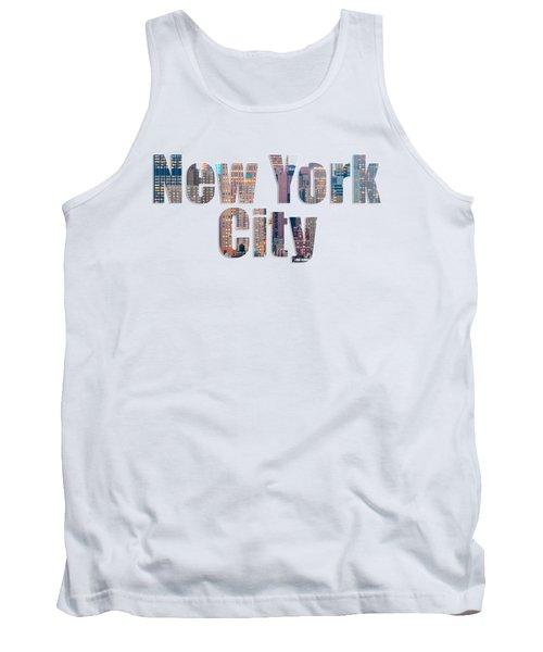 New York Font V2 Tank Top