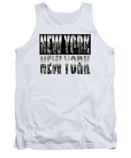 New York New York Tank Top by Az Jackson