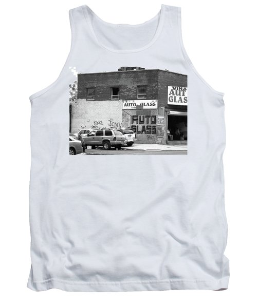 Tank Top featuring the photograph New York Street Photography 70 by Frank Romeo