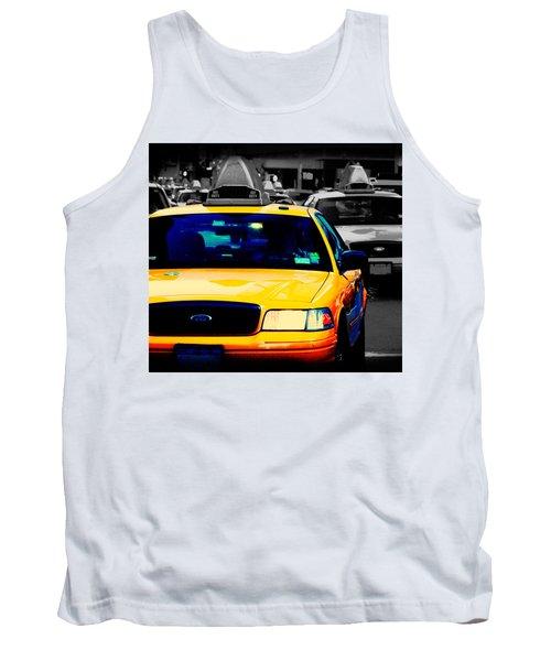 New York Taxi Tank Top