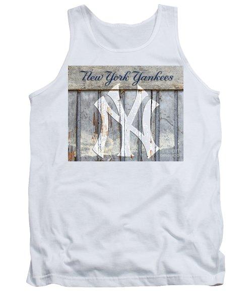New York Yankees Rustic Tank Top