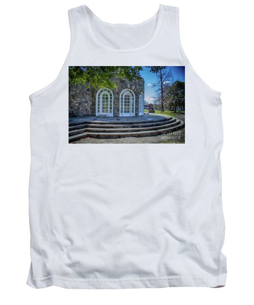 Newburgh Downing Park Shelter House Side View Tank Top