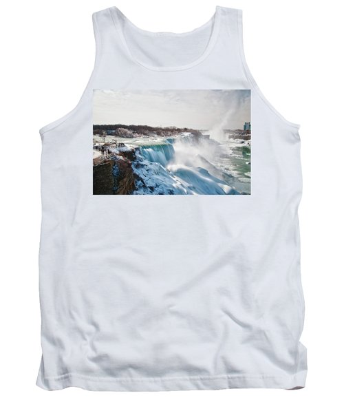 Tank Top featuring the photograph Niagara Falls 4589 by Guy Whiteley