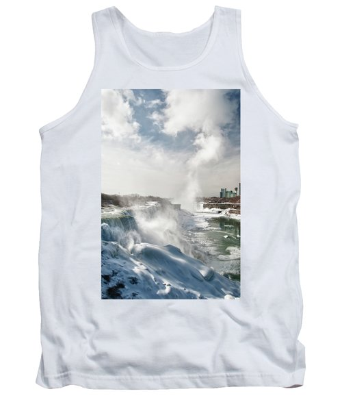 Tank Top featuring the photograph Niagara Falls 4601 by Guy Whiteley
