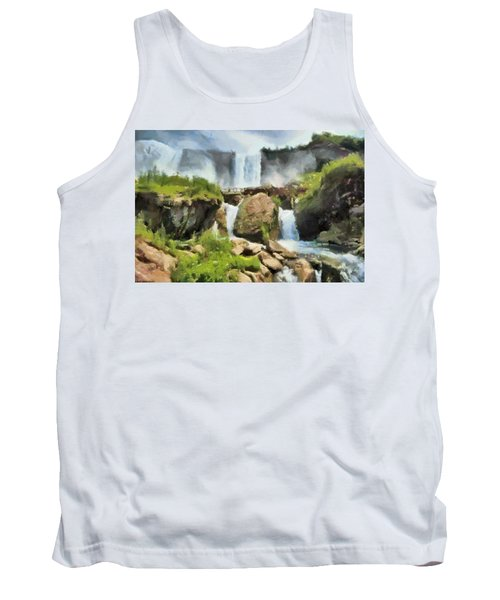 Niagara Falls Cave Of The Winds Tank Top