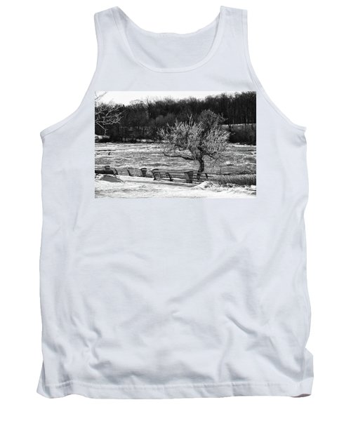 Tank Top featuring the photograph Niagara Falls Ice 4514 by Guy Whiteley