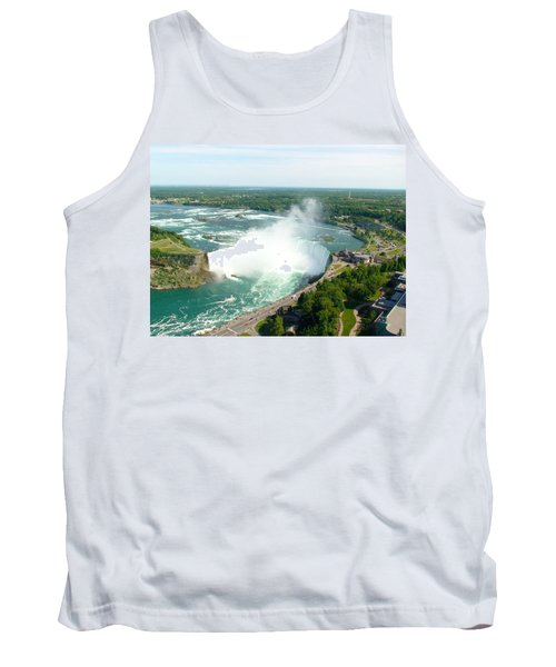 Tank Top featuring the photograph Niagara Falls Ontario by Charles Kraus