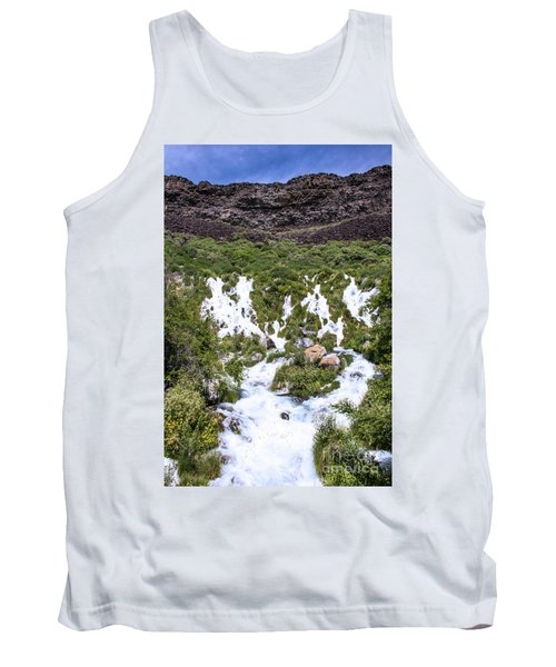 Niagra Springs Idaho Journey Landscape Photography By Kaylyn Franks  Tank Top