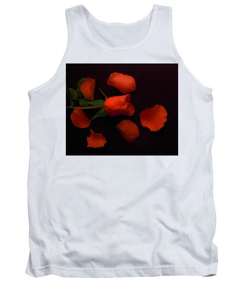 Night Rose 2 Tank Top