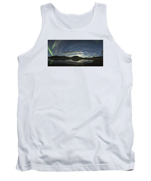 Night Sky Panorama Tank Top