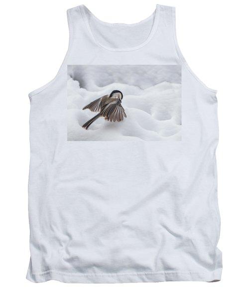 Chickadee - Wings At Work Tank Top
