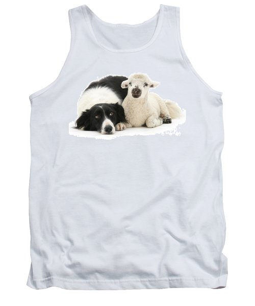 No Sheep Jokes, Please Tank Top