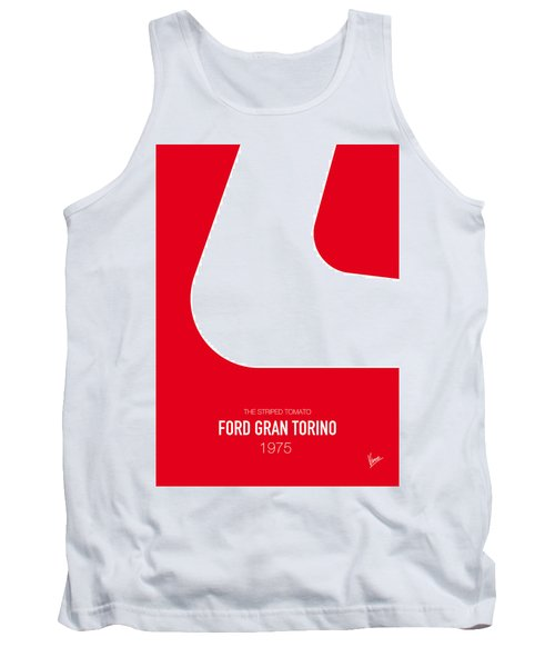 No003 My Starsky And Hutch Minimal Movie Car Poster Tank Top