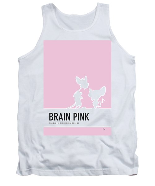 No01 My Minimal Color Code Poster Pinky And The Brain Tank Top