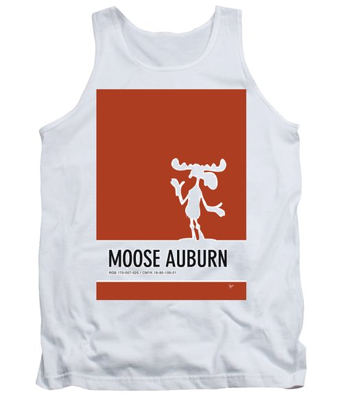 No19 My Minimal Color Code Poster Bullwinkle Tank Top
