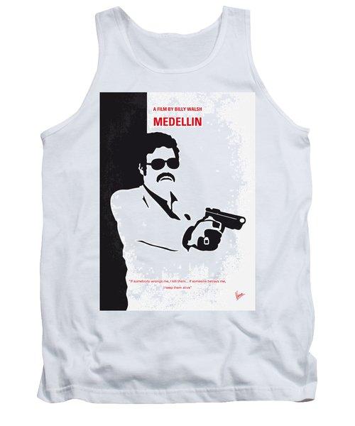 No526 My Medellin Minimal Movie Poster Tank Top