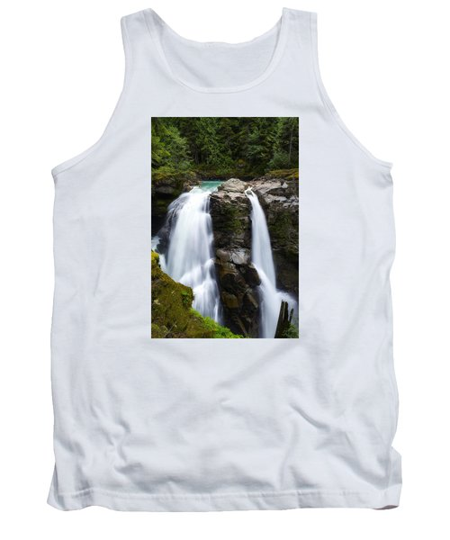 Nooksack Falls Tank Top by Ryan Manuel