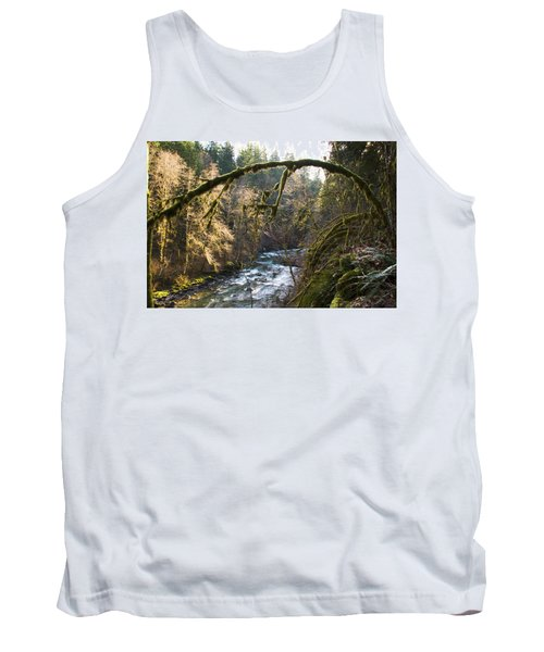 Tank Top featuring the photograph Nooksack River by Yulia Kazansky