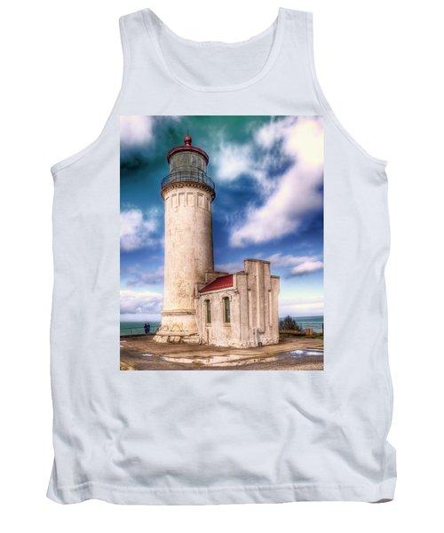 North Head Lighthouse - Washington Coast Tank Top
