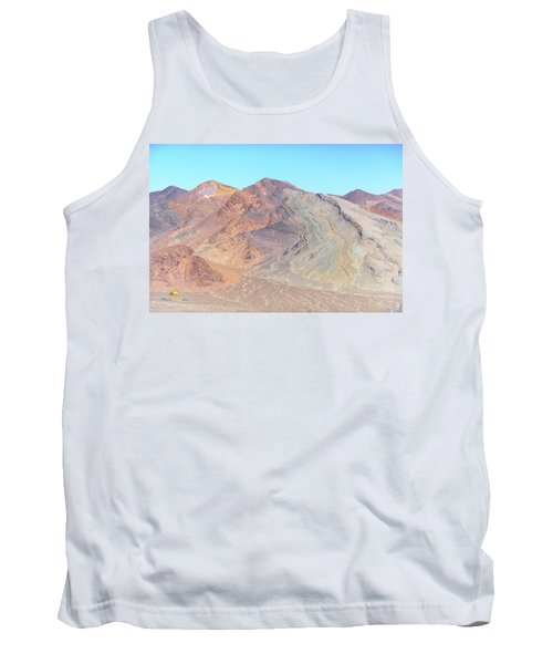 Tank Top featuring the photograph North Of Avawatz Mountain by Jim Thompson