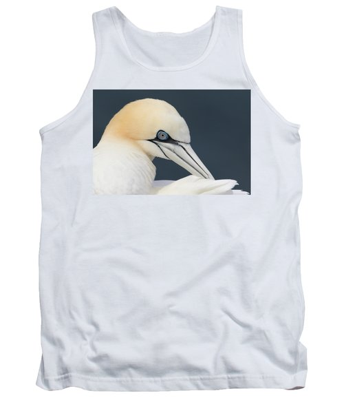 Northern Gannet At Troup Head - Scotland Tank Top
