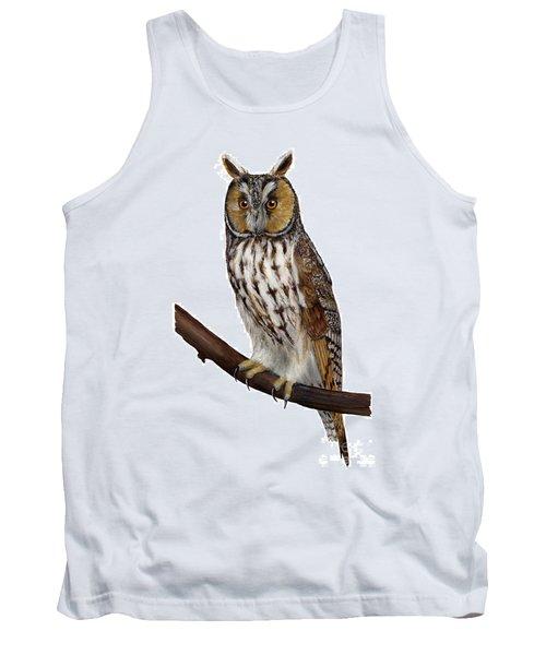 Northern Long-eared Owl Asio Otus - Hibou Moyen-duc - Buho Chico - Hornuggla - Nationalpark Eifel Tank Top