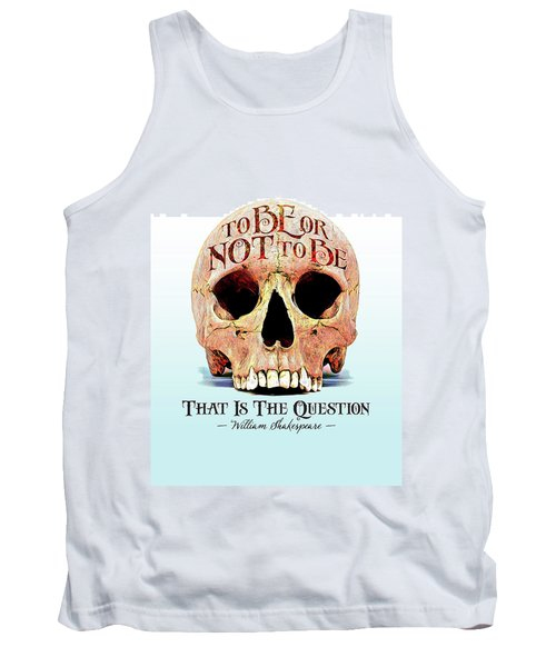 Not To Be Tank Top by Gary Grayson