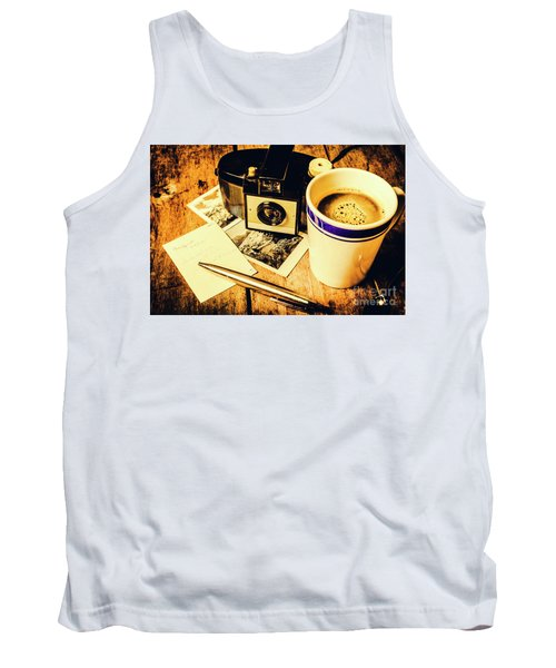 Notes Of Past Recollection Tank Top