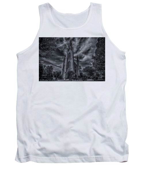 Tank Top featuring the photograph Notre Dame University Church by David Haskett