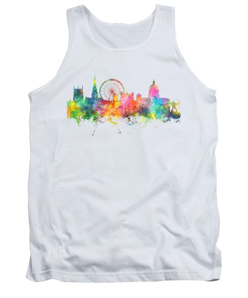 Nottingham  England Skyline Tank Top