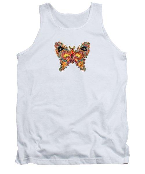 November Butterfly Tank Top