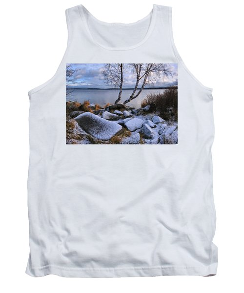 Tank Top featuring the photograph November Day by Vladimir Kholostykh
