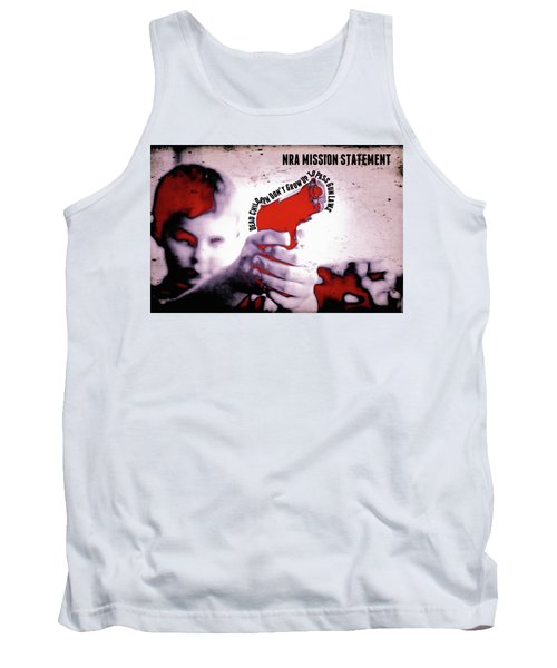 Nra Mission Statement Tank Top