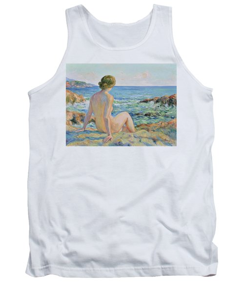 Nude On The Coast Monaco Tank Top
