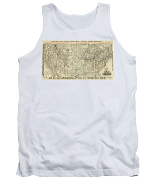 O And M Map Tank Top