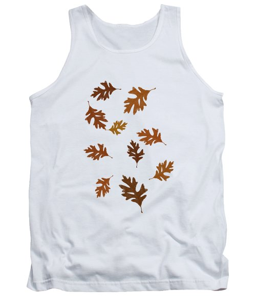 Oak Leaves Art Tank Top