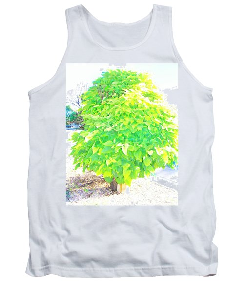 Tank Top featuring the photograph Obese American Tree by Lenore Senior