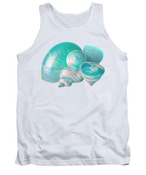Ocean Glow Seashells Tank Top