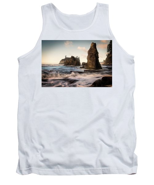 Tank Top featuring the photograph Ocean Spire Signature Series by Chris McKenna
