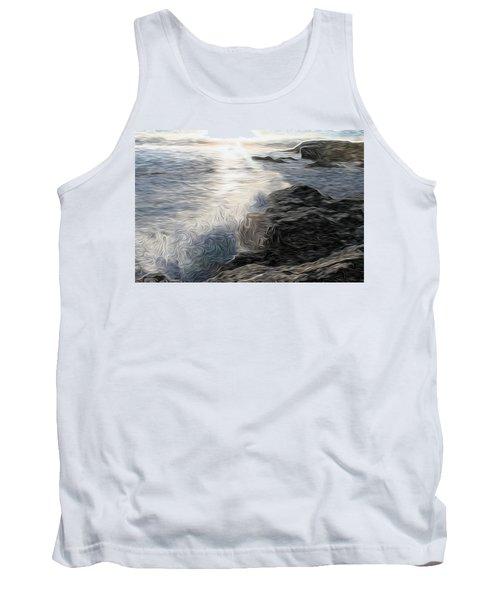 Ocean Splash Tank Top