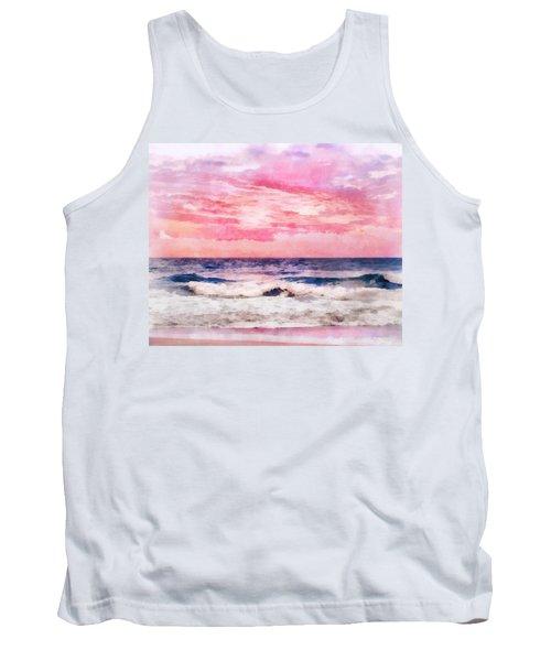 Ocean Sunrise Tank Top by Francesa Miller