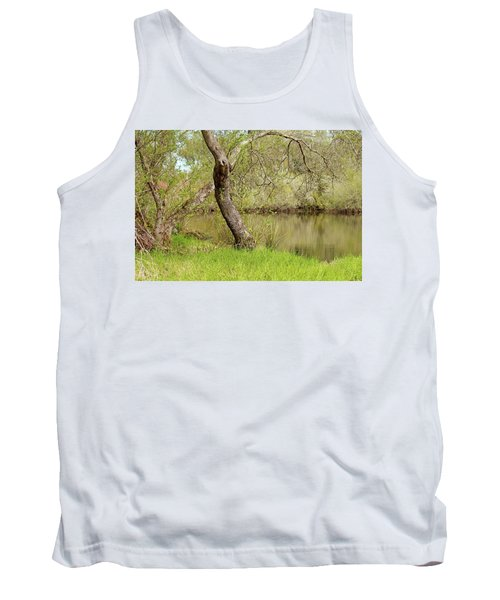 Tank Top featuring the photograph Oceano Lagoon by Art Block Collections