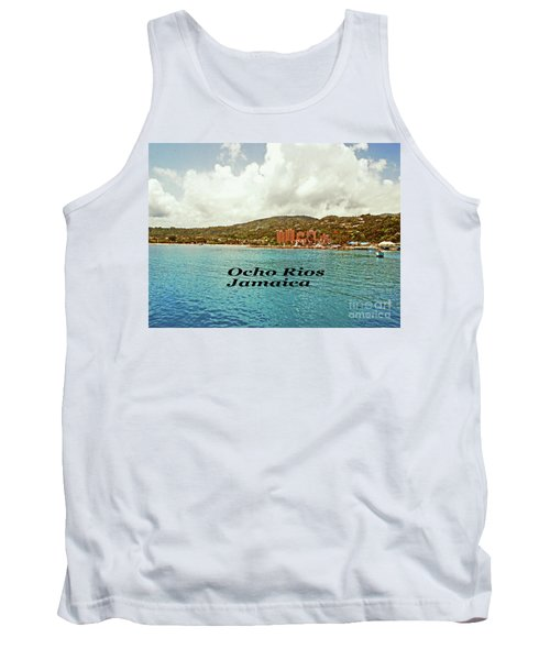 Tank Top featuring the photograph Ocho Rios Jamaica by Gary Wonning